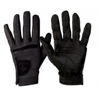 Women's RelaxGrip Black Equestrian Glove